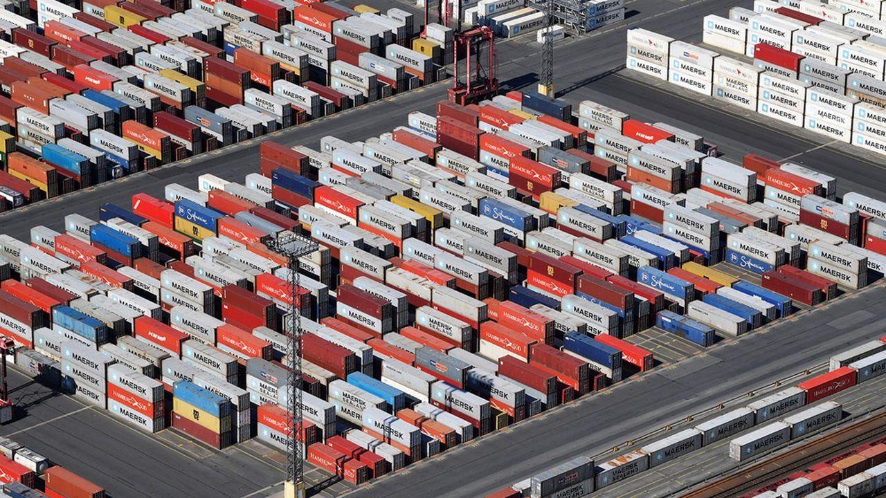 Les exportations sont l'un des principaux moteurs de l'économie allemande.