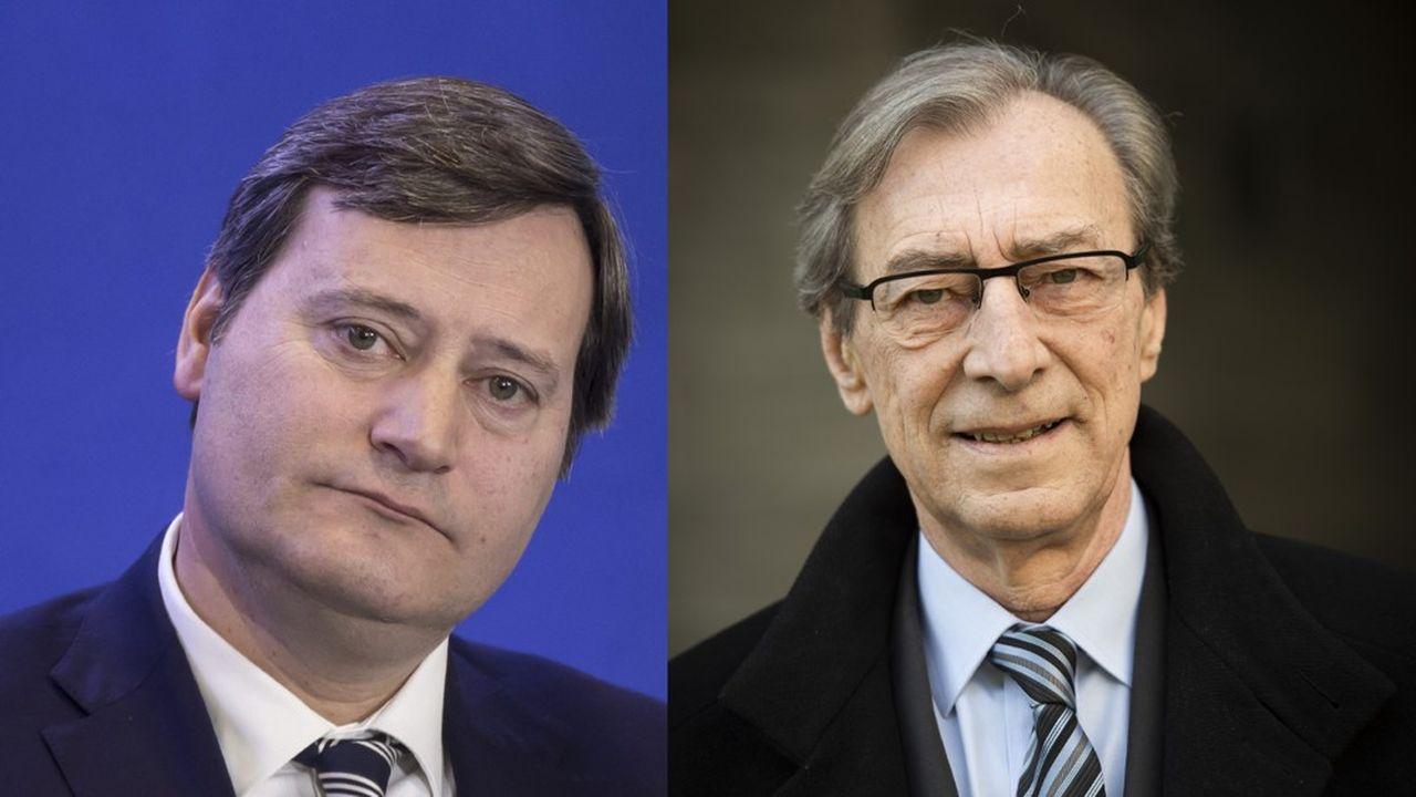 Georges Siffredi le maire LR de Chatenay-Malabry, ici à droite, a éclipsé son challenger DVD Eric Berdoati ici à gauche.