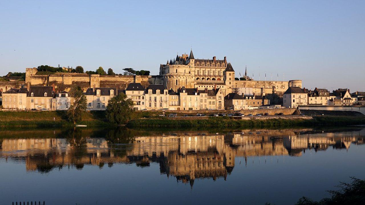 Le château d'Amboise a rouvert à la mi-mai.