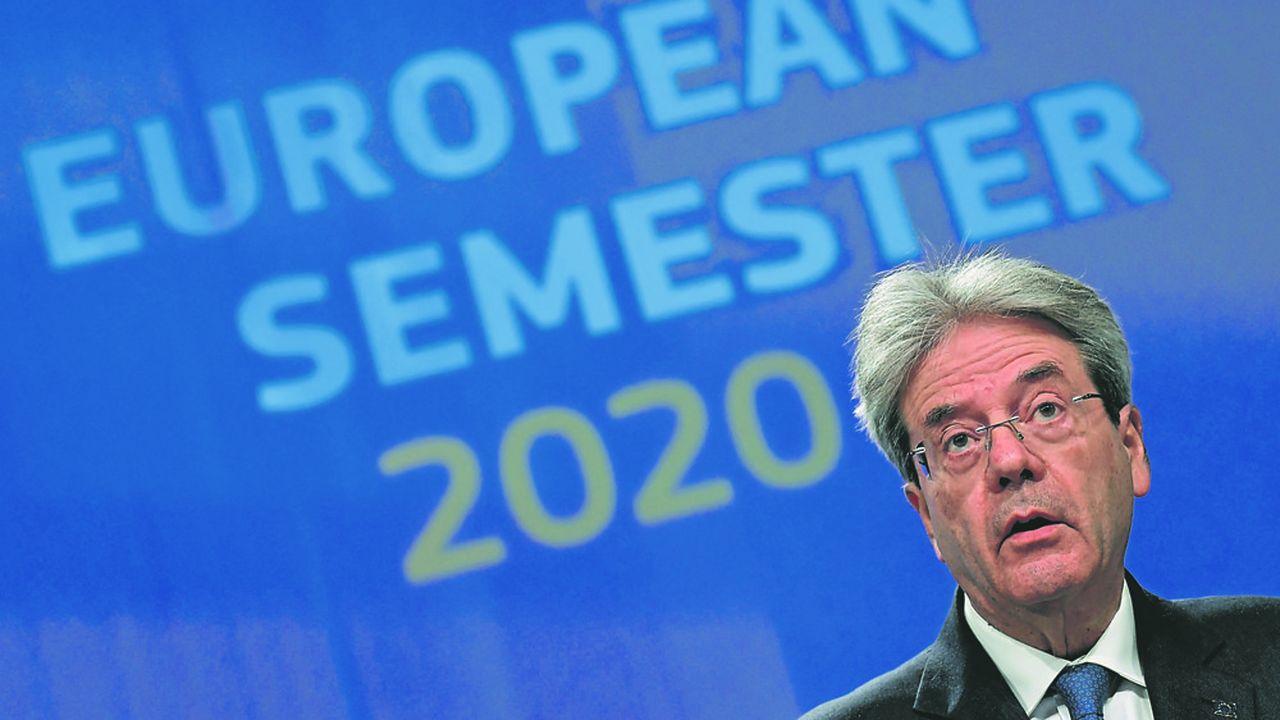 Le commissaire en charge des Affaires économiques, Paolo Gentiloni, veut faire du «pacte vert» le coeur de la stratégie de reprise de l'Europe.