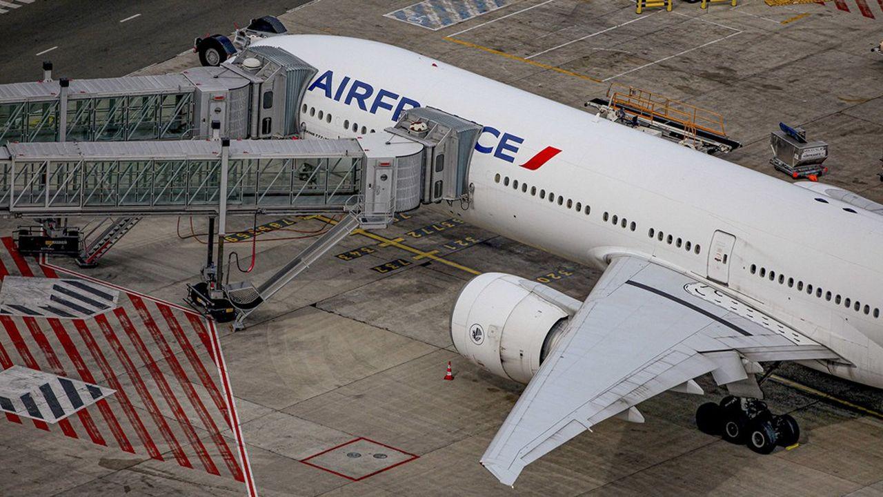 Pour le seul mois d'avril, Air France a dû annuler 97% de son programme, soit quelque 30.000 vols.