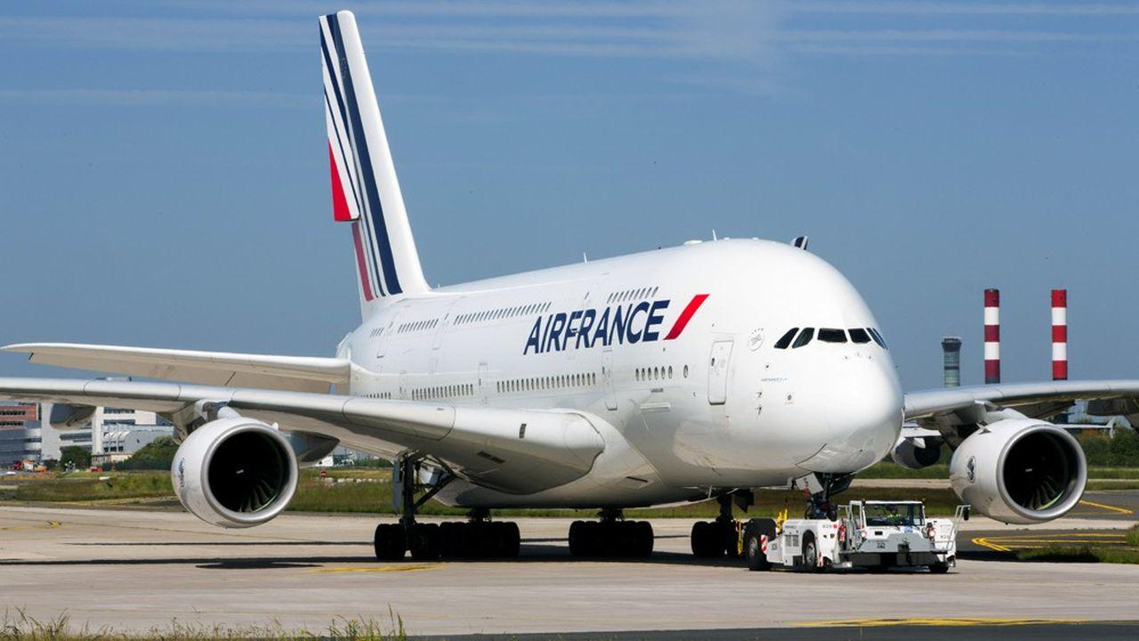 Air France ne fera pas revoler ses Airbus A380   Les Echos