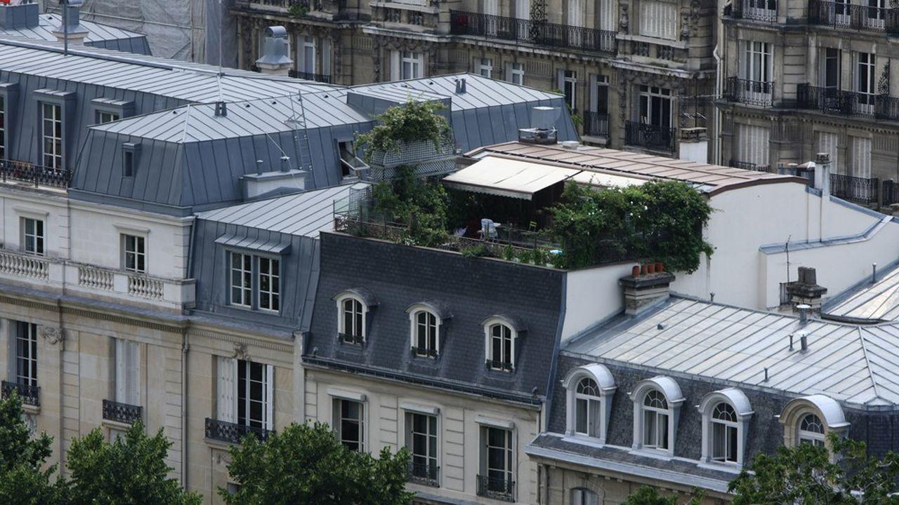 Pour trouver un balcon ou une terrasse à Paris, cap sur le 15e ou le 16e, selon une étude de PriceHubble.