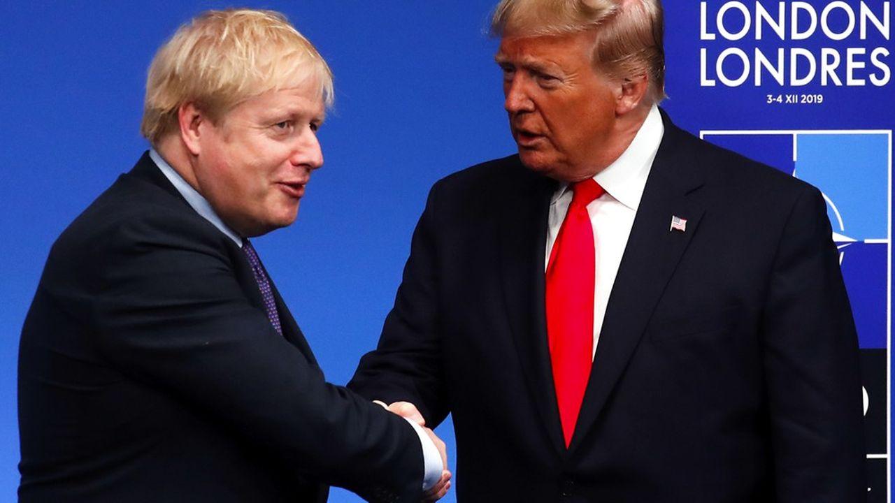Boris Johnson accueillait le 4décembre dernier au sommet de l'Otan, près de Londres, Donald Trump. Mais les relations futures entre le Royaume-Uni post-Brexit et les Etats-Unis risquent d'être compliquées par l'imprévisibilité de l'actuel président américain.