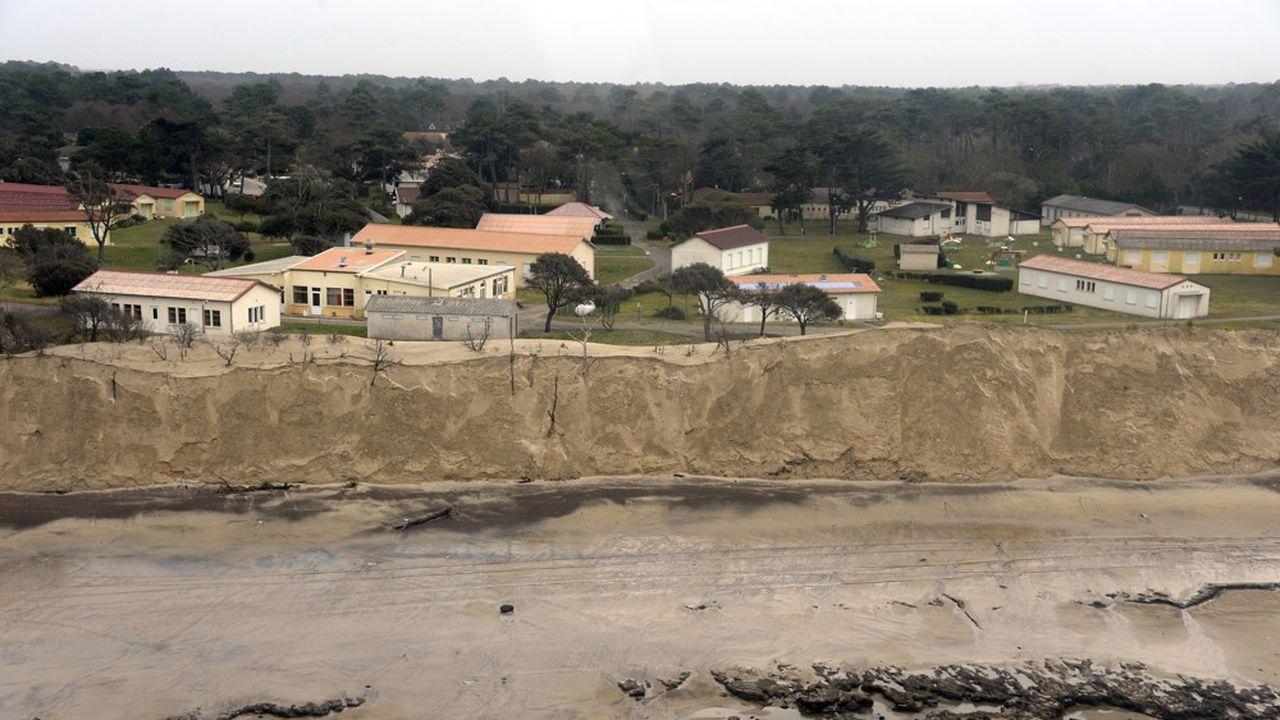 A Soulac-sur-Mer en Gironde, en janvier2014.
