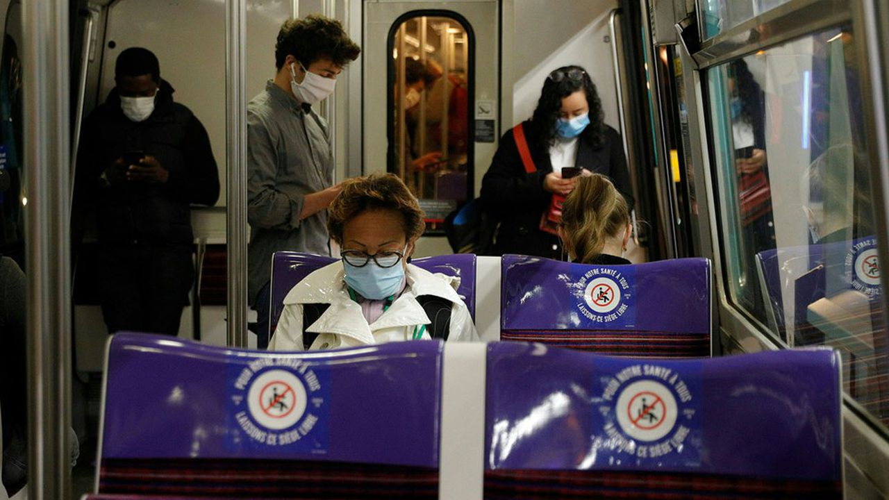 Les transports font partie des situations à risque, selon une étude chinoise.