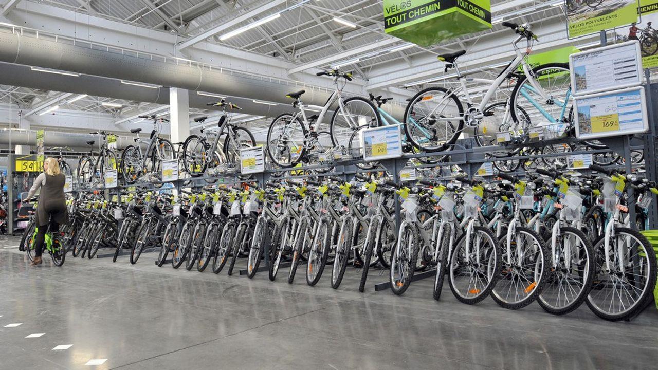 Decathlon est déjà l'un des plus gros vendeurs de vélos en France.