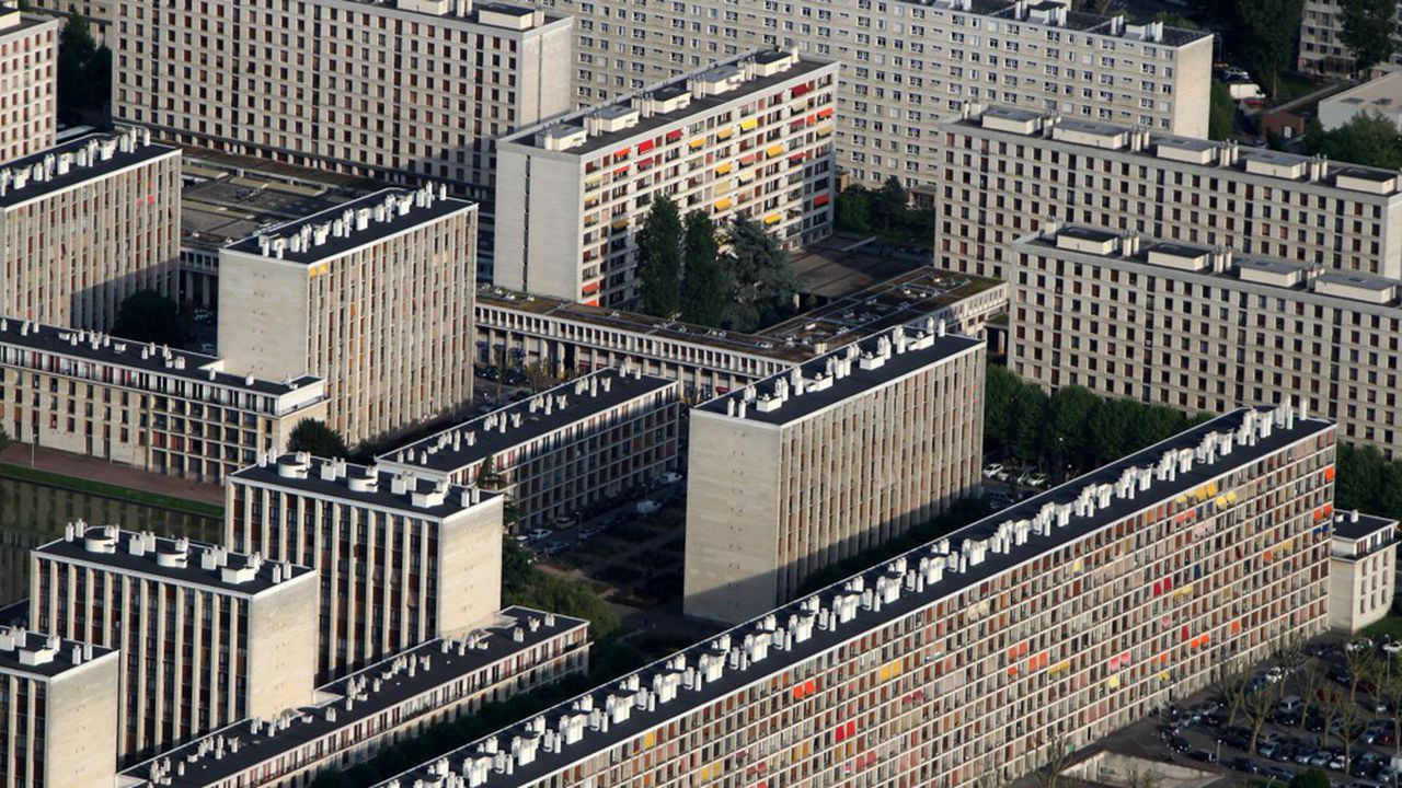 Même dans les HLM (ici en région parisienne), il n'y a pas eu de flambée des impayés de loyers en lien avec la crise sanitaire.