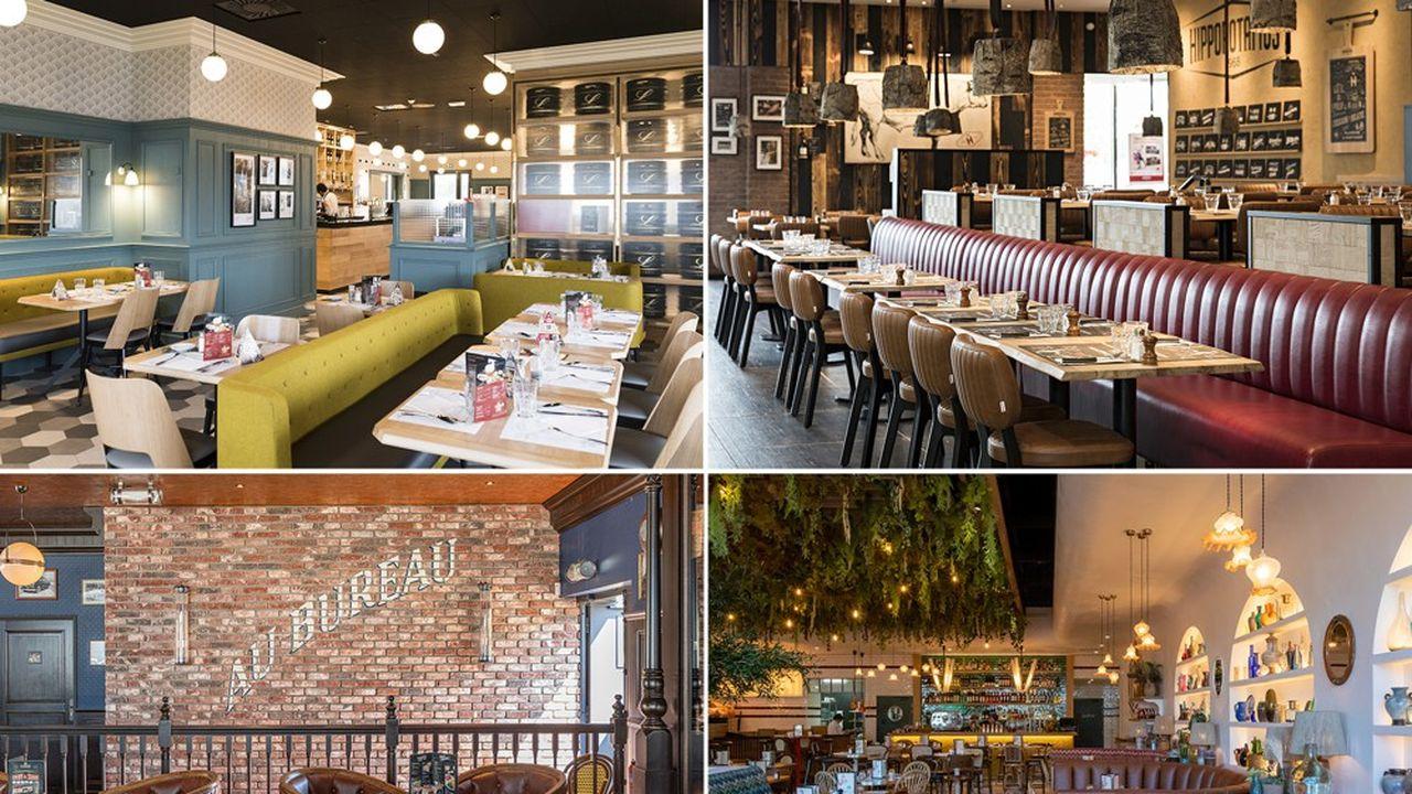 De Léon de Bruxelles à Hippopotamus, des brasseries à Burger King, Groupe Bertrand va devoir adapter aux nouvelles contraintes une large palette d'établissements.