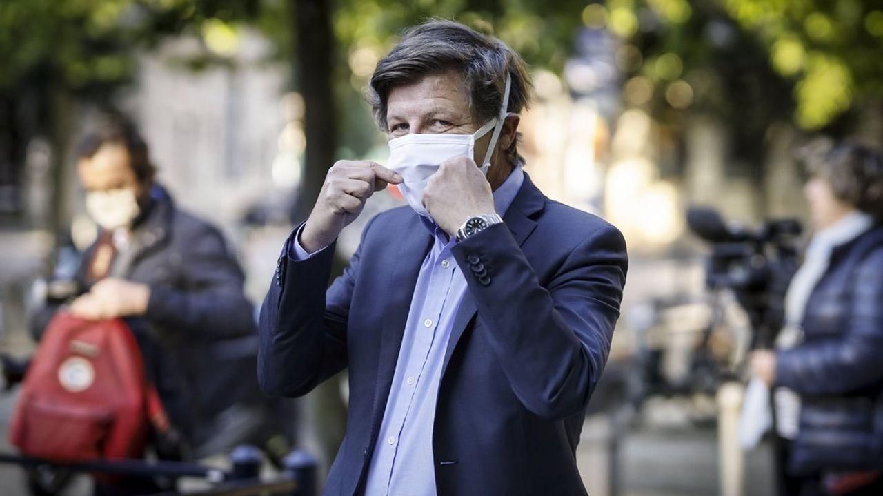 Nicolas Florian, le maire LR de Bordeaux