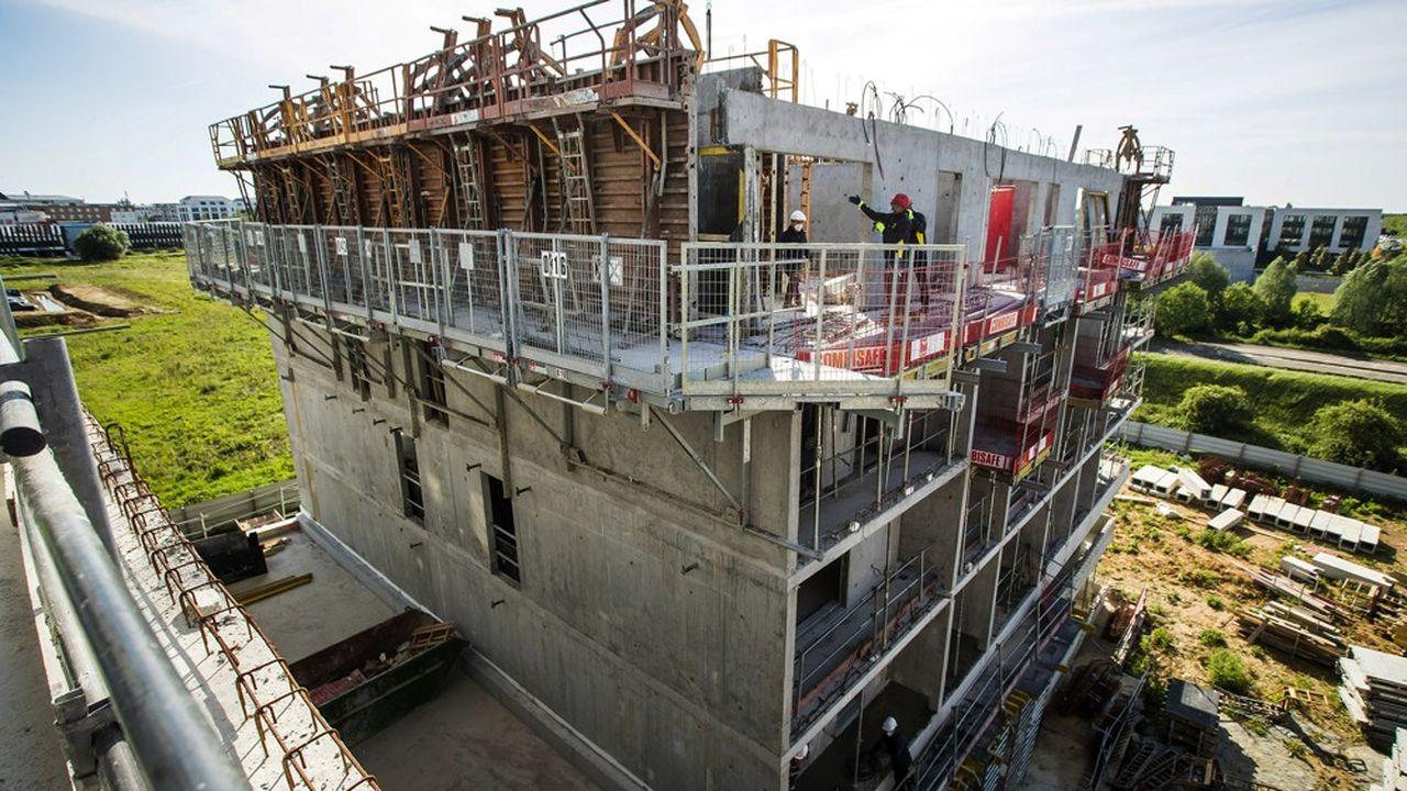 La construction de logements sociaux a connu un coup d'arrêt pendant le confinement.