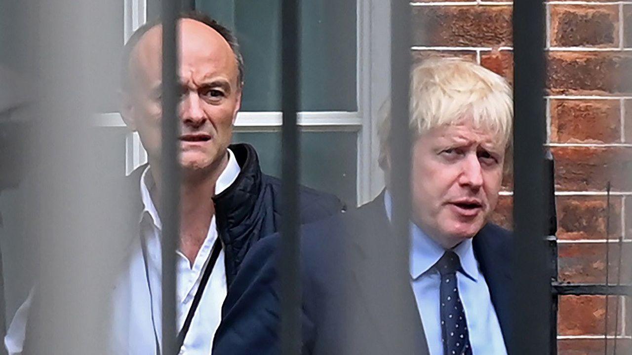 Dominic Cummings (à g.) est notamment connu pour avoir été le cerveau de la campagne du référendum de 2016, qui a abouti au Brexit.