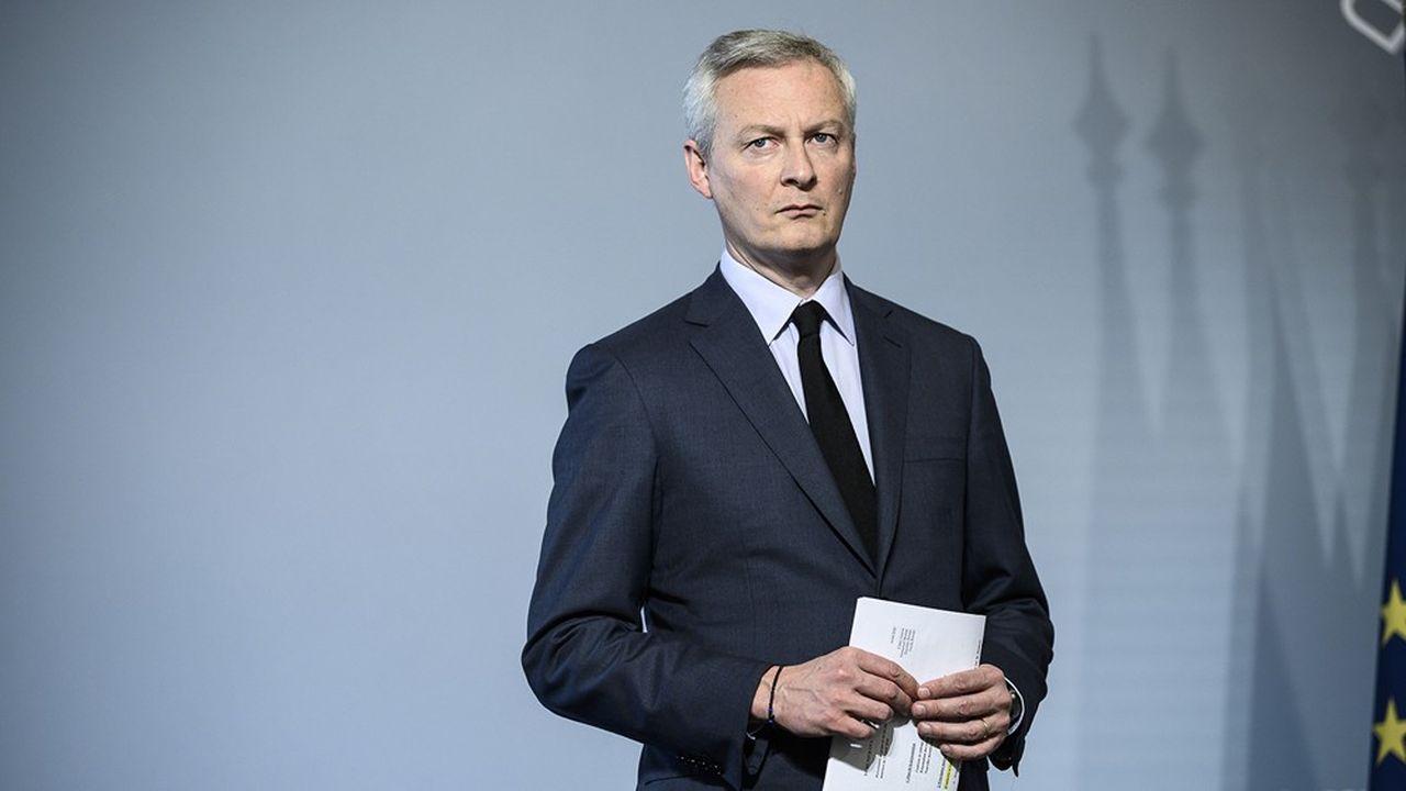 Bruno Le Maire a annoncé que la taxe sur les services numériques a rapporté 350millions d'euros.