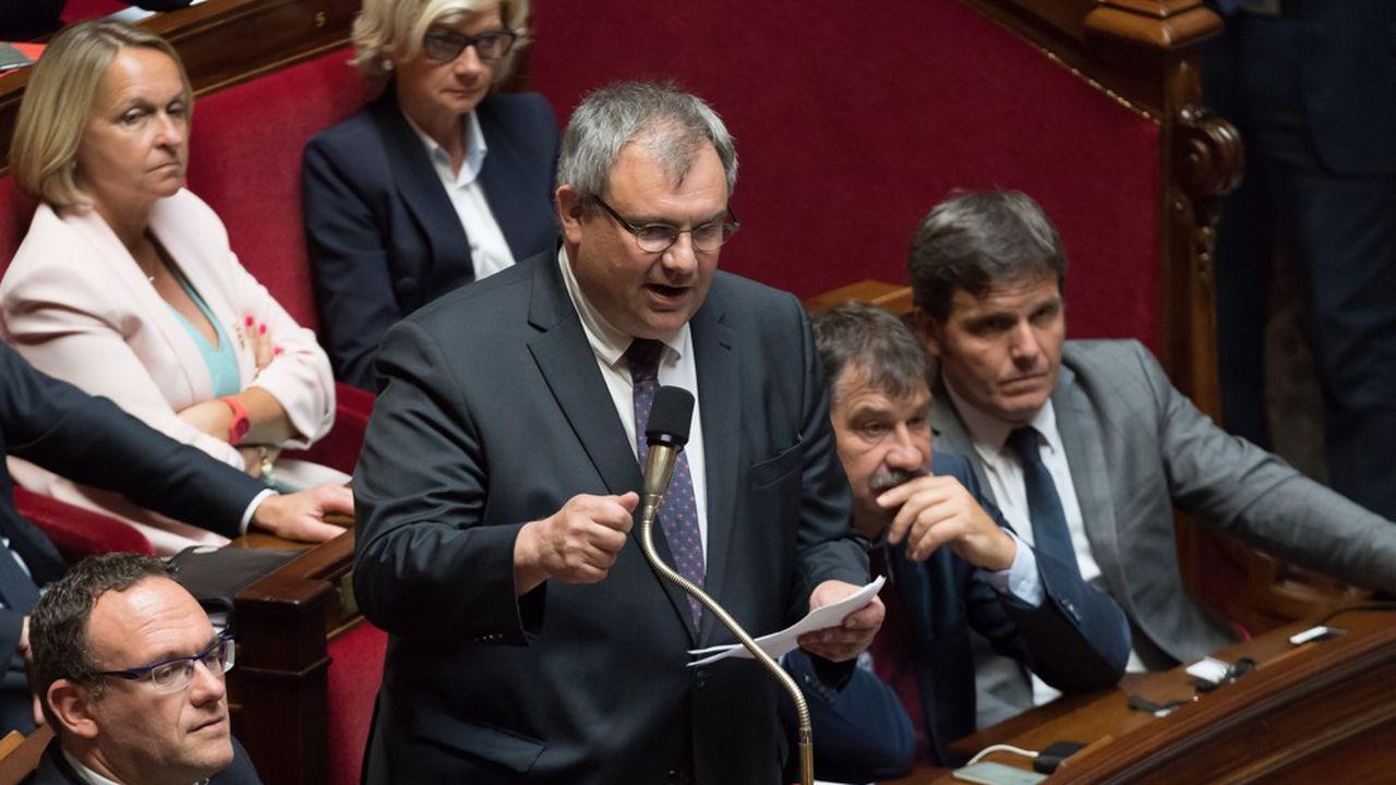 Laurent Furst à l'Assemblée nationale en juin2018.