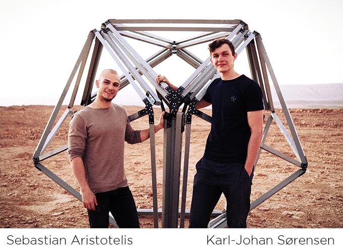 Deux architectes et designers Danois
