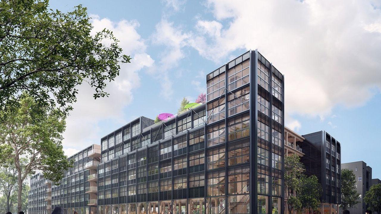 La future résidence en bois est conçue comme totalement résiliente.