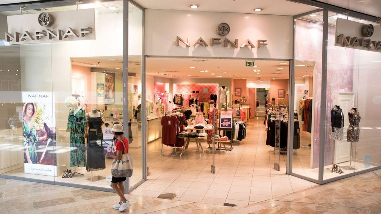Deux ans après avoir été vendu par Vivarte à un groupe chinois, Naf Naf a été placé en redressement judiciaire.