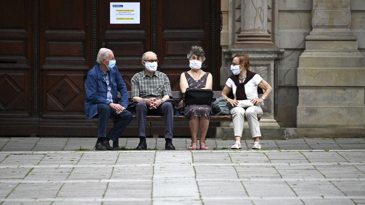Il n'est plus obligatoire de porter un masque dans l'hypercentre de Strasbourg