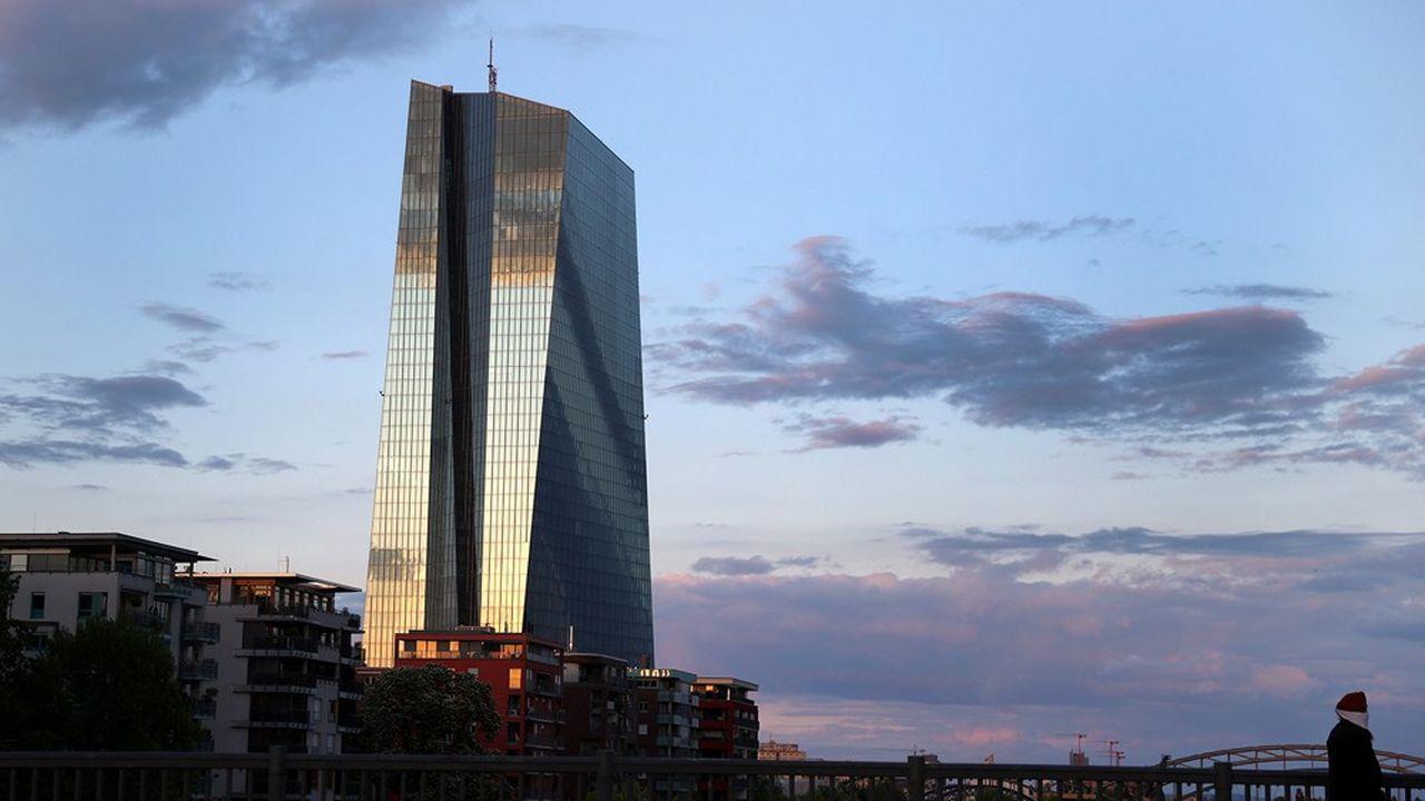 Siège de la BCE, Francfort, Allemagne