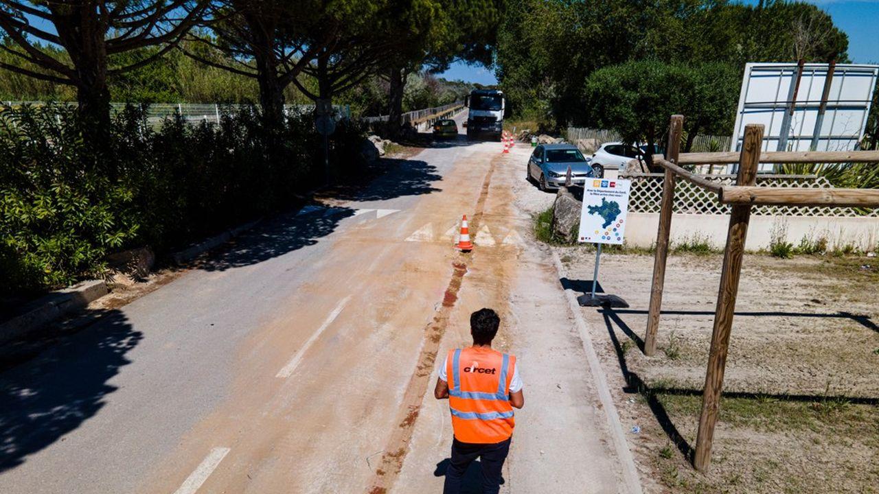 D'ici à la fin de l'été, 16 communes supplémentaires au moins seront concernées par le raccordement en fibre optique.