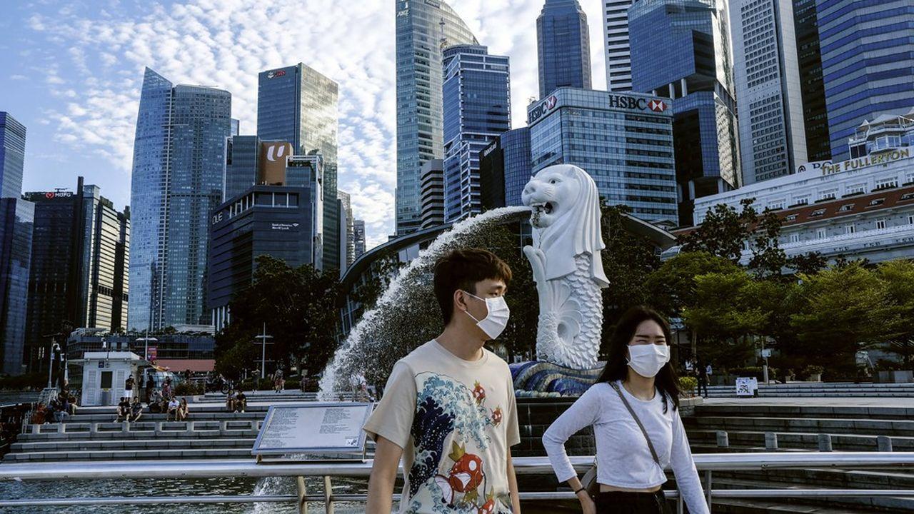 Avec 31.960 cas, Singapour est le pays d'Asie le plus touché par l'épidémie de Covid-19.
