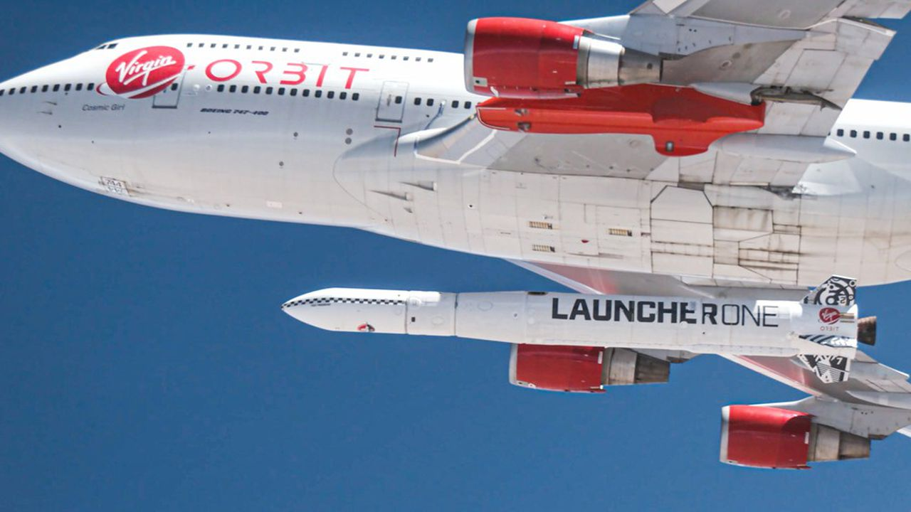 Le LauncherOne échoue à son premier test de vol orbital — Virgin Orbit