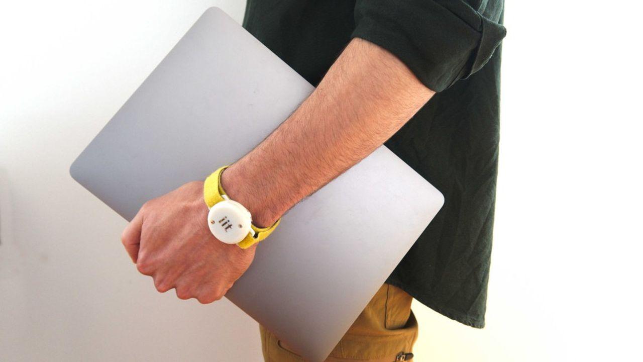 Baptisé «iFeel-You», ce bracelet électronique obéit au même principe que l'application mobile de traçage numérique StopCovid, développée par l'Inria.