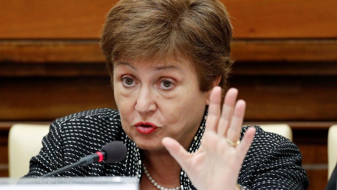 Georgieva Kristalina, directrice générale du FMI, conseille aux banques de garder leurs bénéfices et non de les distribuer