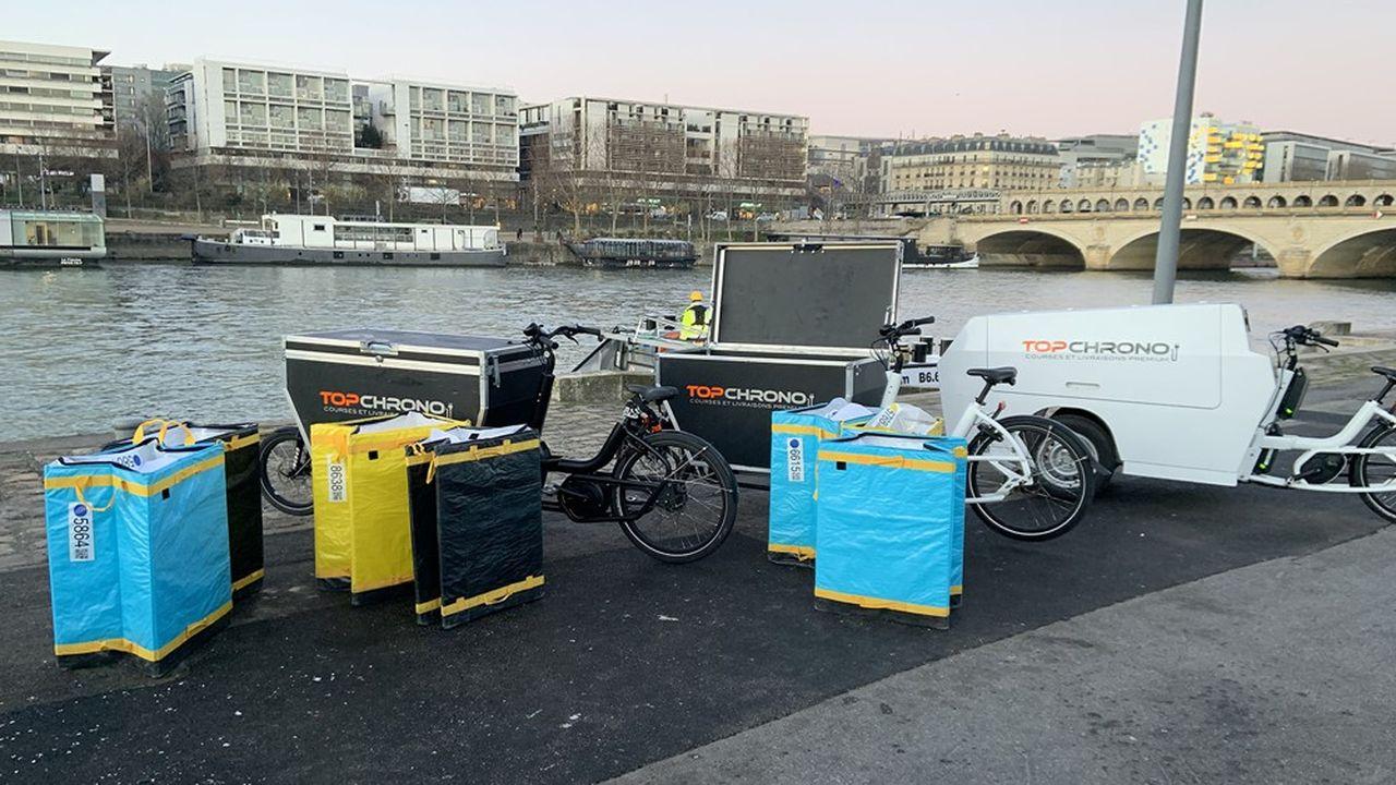 L'entreprise, qui vise de nouveaux coeurs de ville, explique miser sur les grands vélos cargos, dont elle teste actuellement 25 modèles.