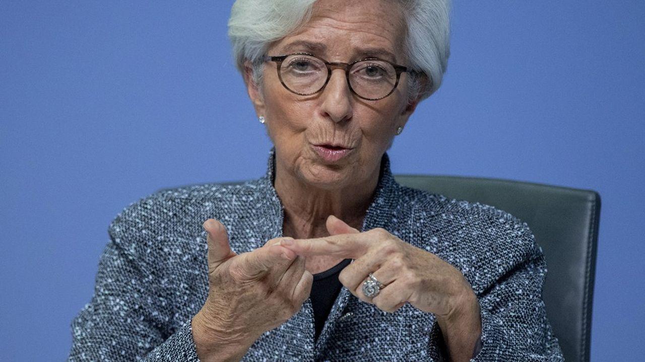 La crise du Covid-19 laisse la zone euro à bout de souffle, selon la BCE