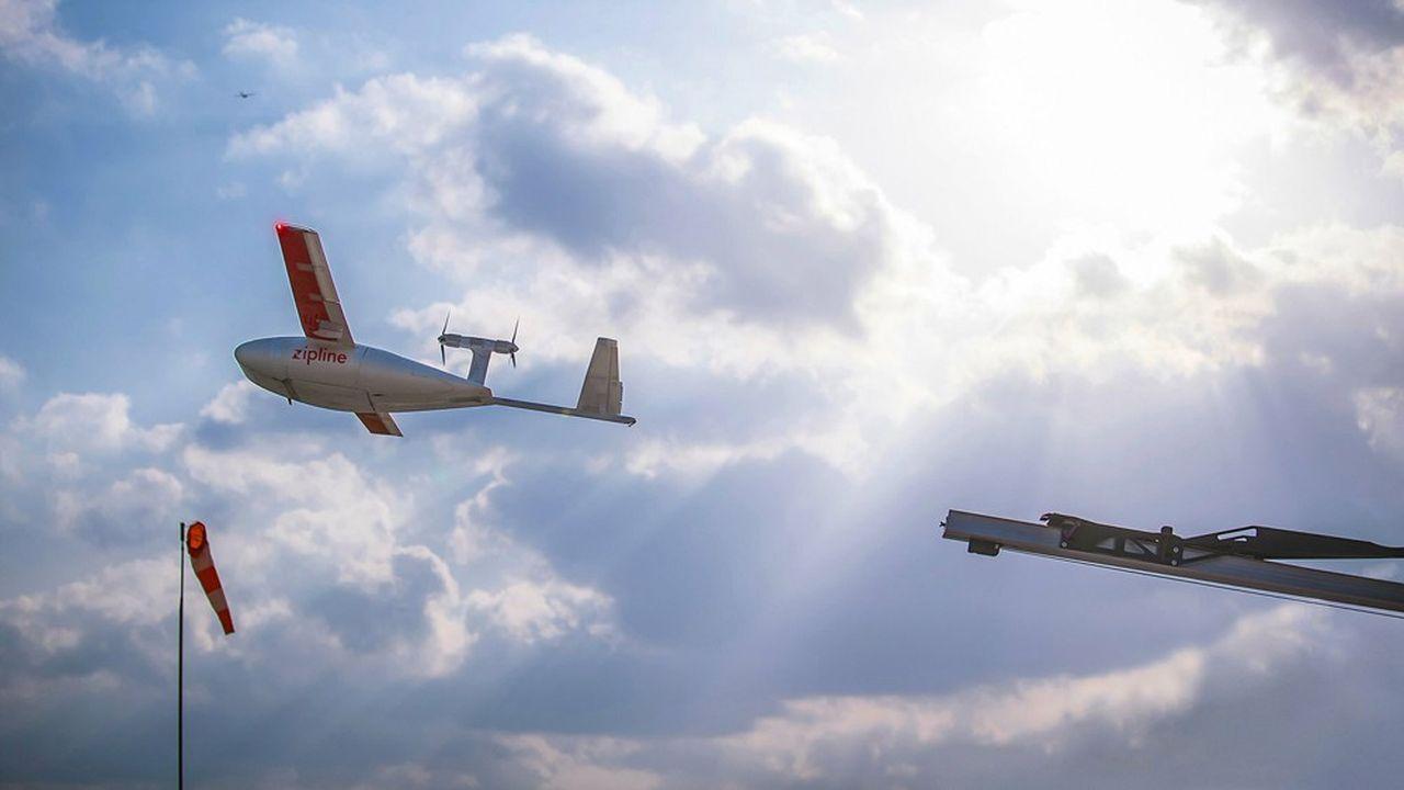 Les trajets effectués par les drones couvriront entre 30 et 50 kilomètres, aller-retour.