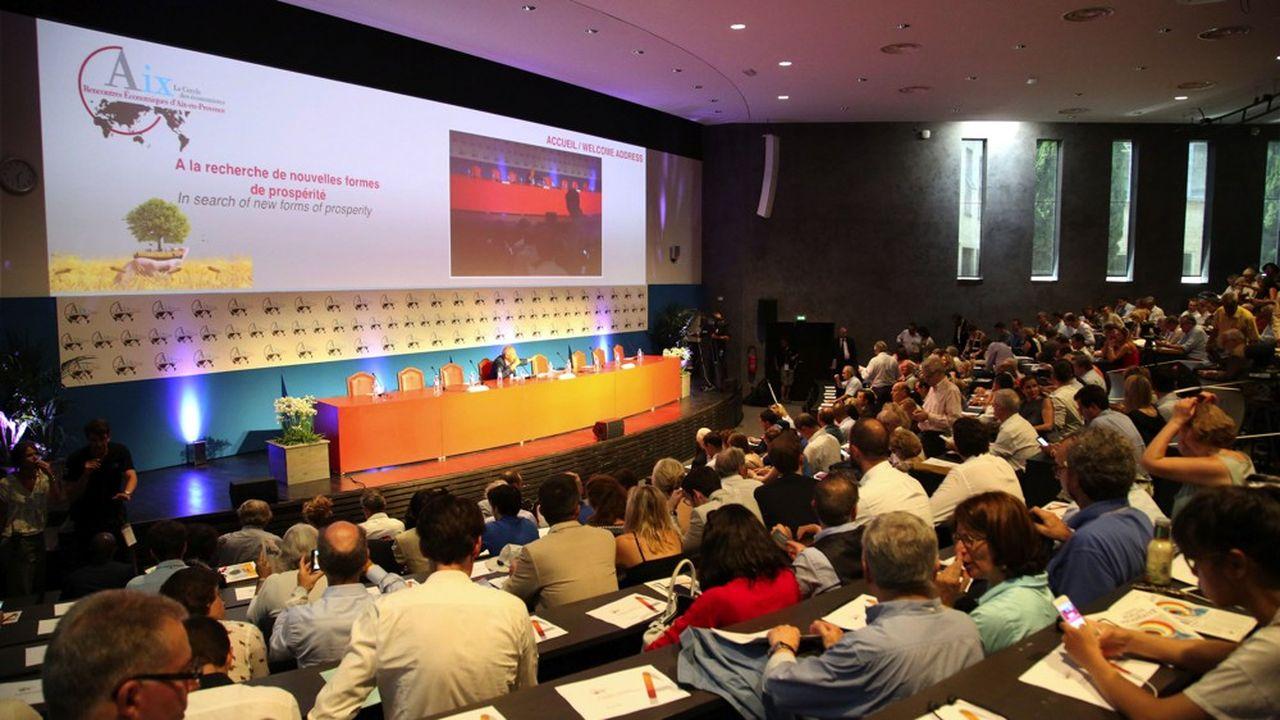 Les 17e Rencontres Economiques d'Aix en Provence.