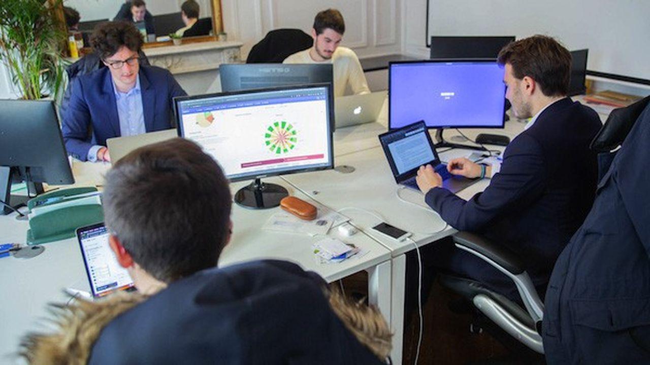 Néobrain aide les entreprises à cartographier les compétences de leurs employés.