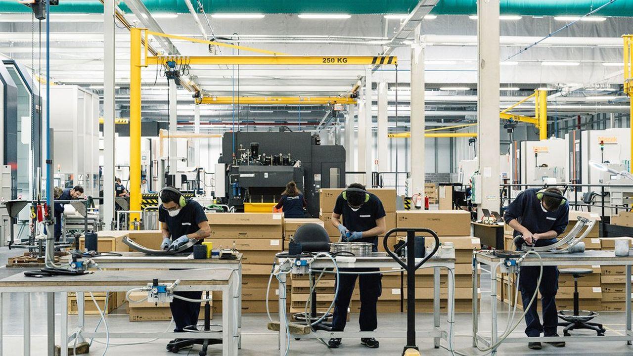 L'équipementier aéronautique Mecachrome compte 13 usines, en France au Portugal (sur la photo) et au Maroc, avec 2.800 salariés.