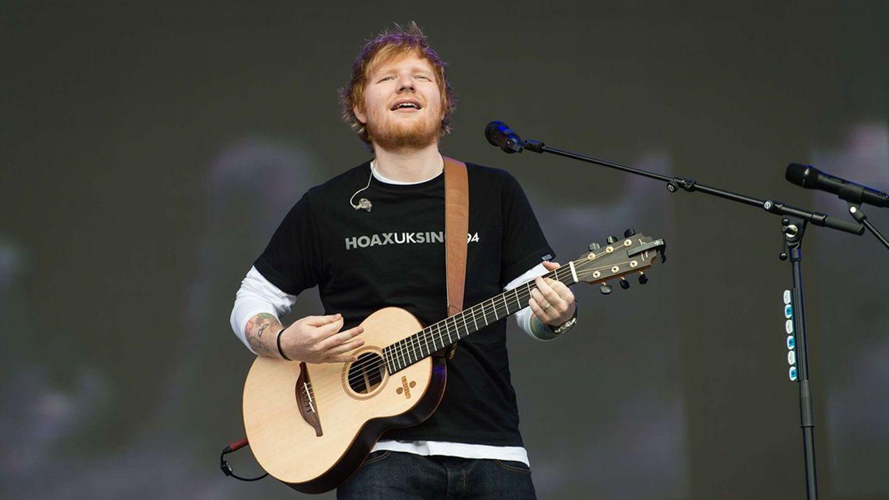 Troisième plus grand label de musique au monde, Warner Music Group détient les droits d'artistes comme Cardi B, Gorillaz ou Ed Sheeran (photo).