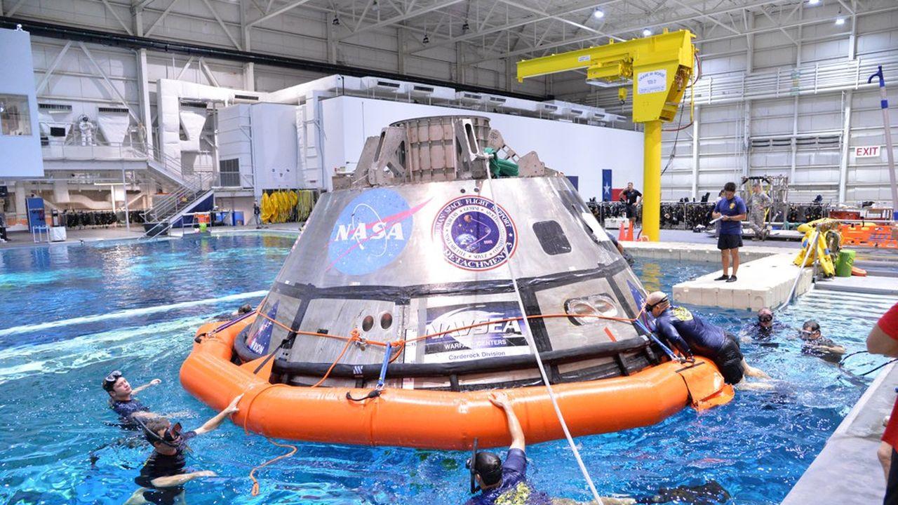 Le retour des Etats-Unis sur la Lune en 2024 de plus en plus compromis