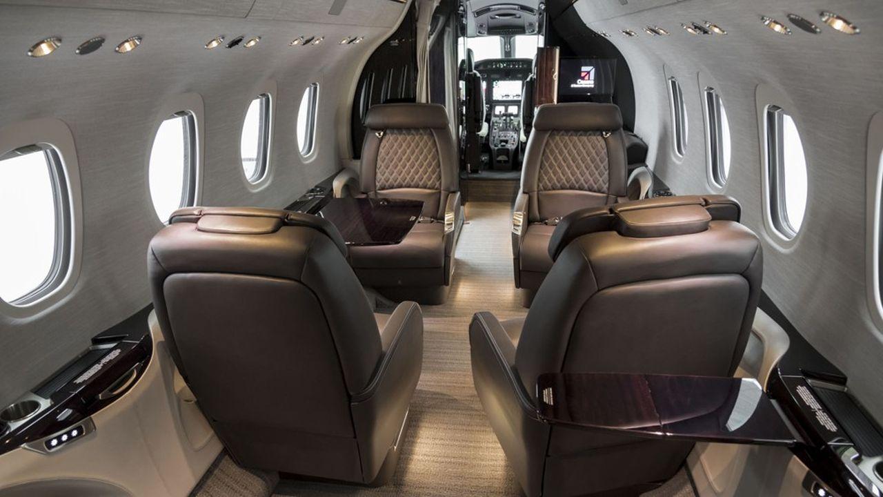 A près de 10.000euros le vol intérieur, une liaison en avion d'affaires doit se justifier économiquement pour l'entreprise.
