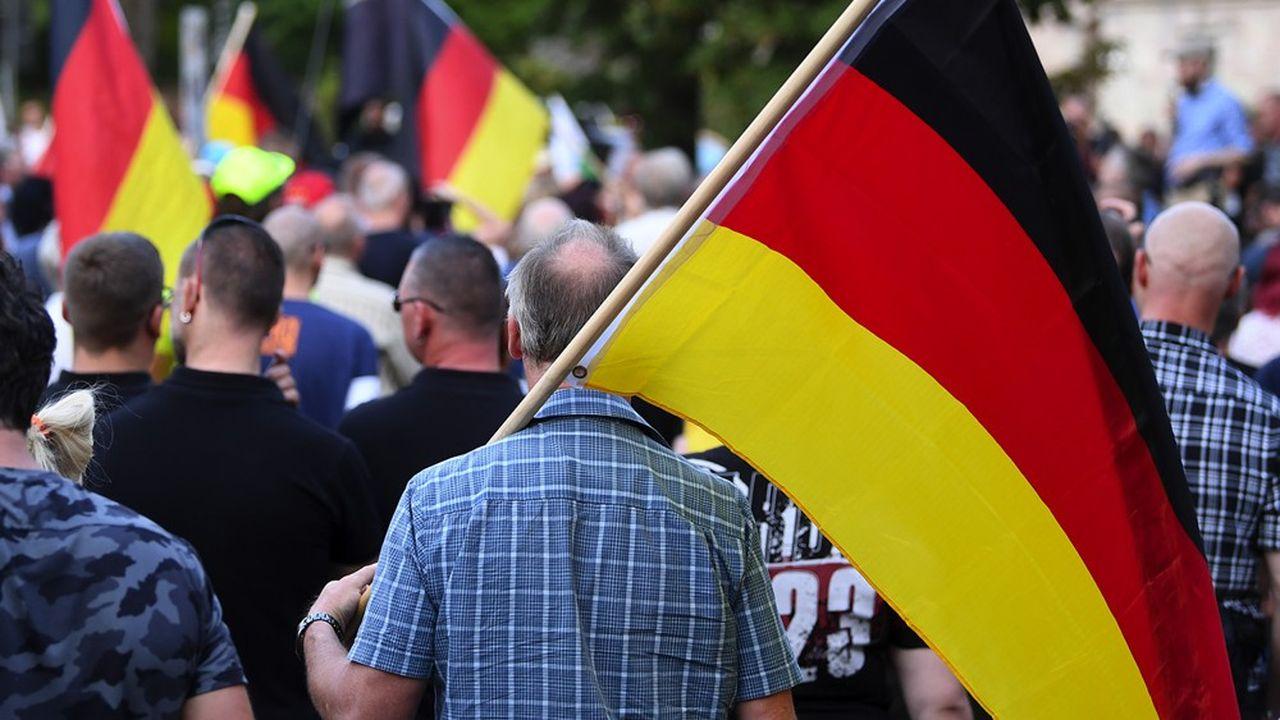 Lors des manifestations à Chemnitz et ailleurs, la violence d'extrême droite et la multiplication des actes antisémites inquiètent toujours l'Allemagne