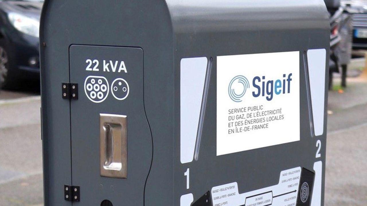 Le Sigeif a posé sa première borne en octobre2019 à la Celle-Saint-Cloud.