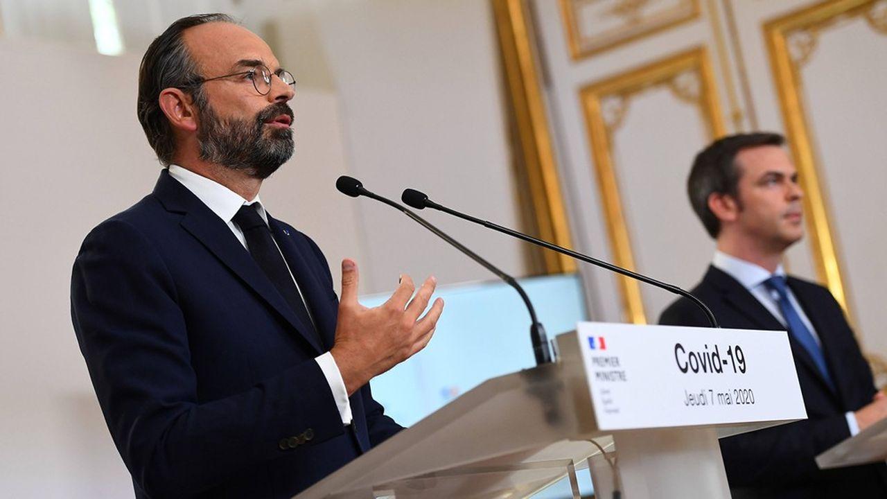 Edouard Philippe lors des annonces sur le déconfinement le 7mai dernier.
