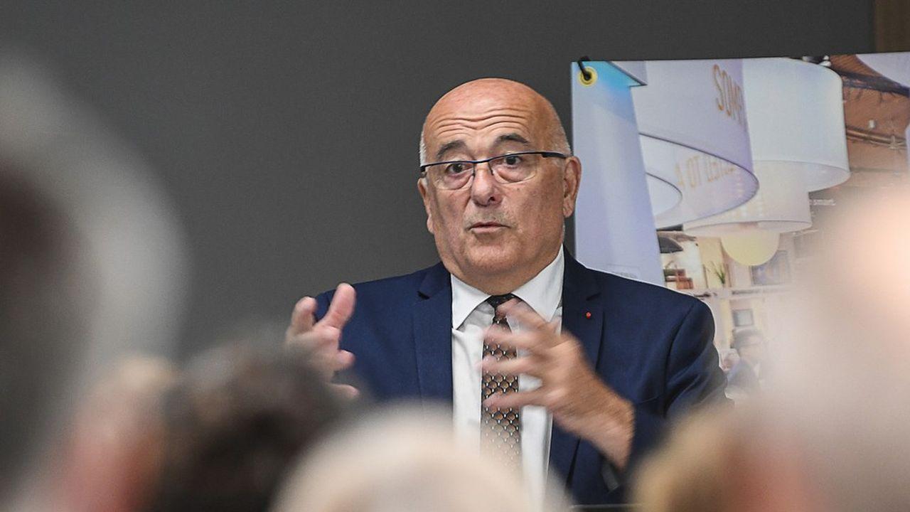 Christian Monteil préside le conseil départemental de Haute-Savoie.