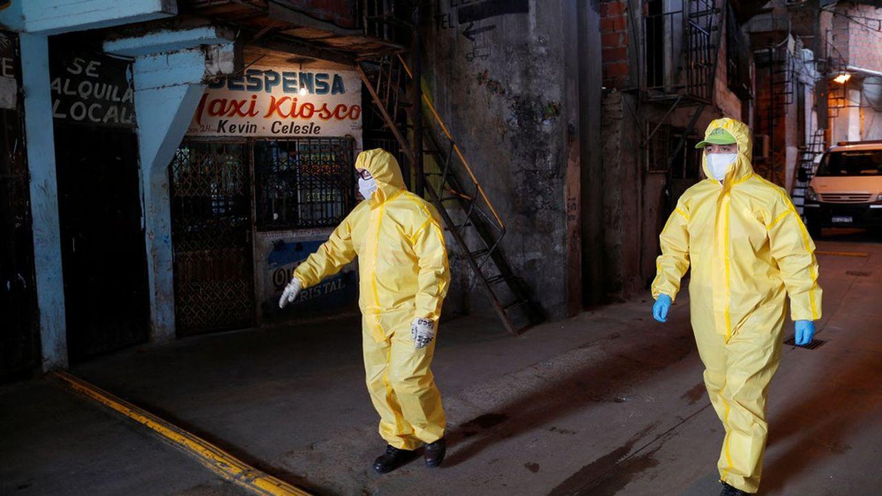 Un quartier précaire de la périphérie de Buenos Aires a été totalement isolé après la confirmation d'un foyer de contamination.