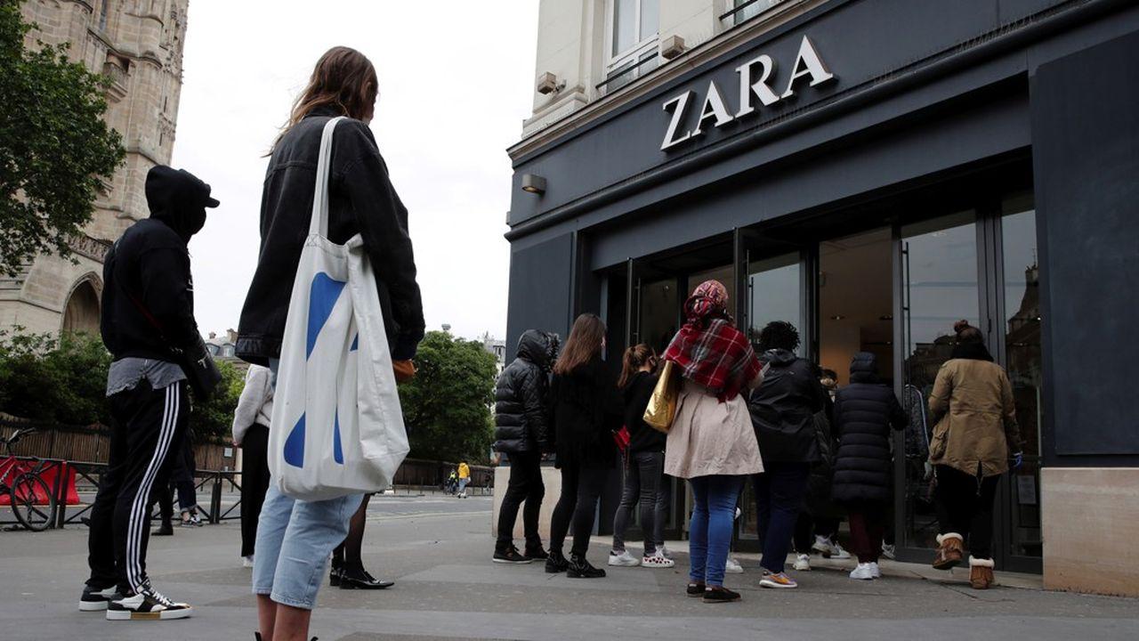 Depuis le 11mai, les clients retournent dans les magasins.