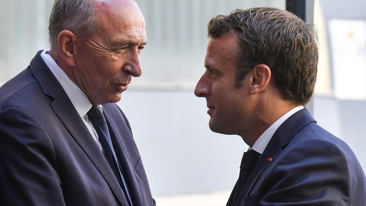Compagnon de route d'Emmanuel Macron dans sa quête élyséenne, Gérard Collomb avait été investi candidat LREM pour la métropole de Lyon malgré son départ brutal du gouvernement en octobre2018.