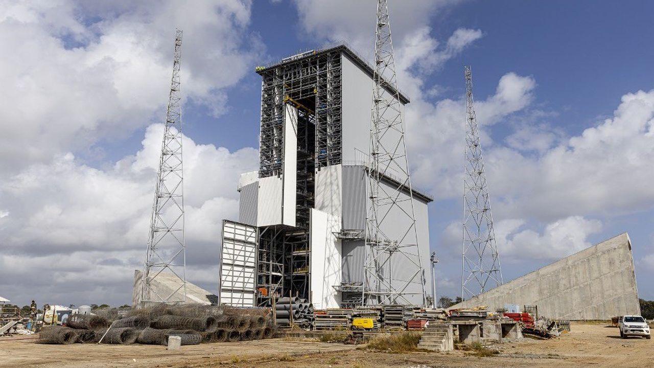 La crise du Covid-19 a mis à l'arrêt le chantier du pas de tir d'Ariane 6.
