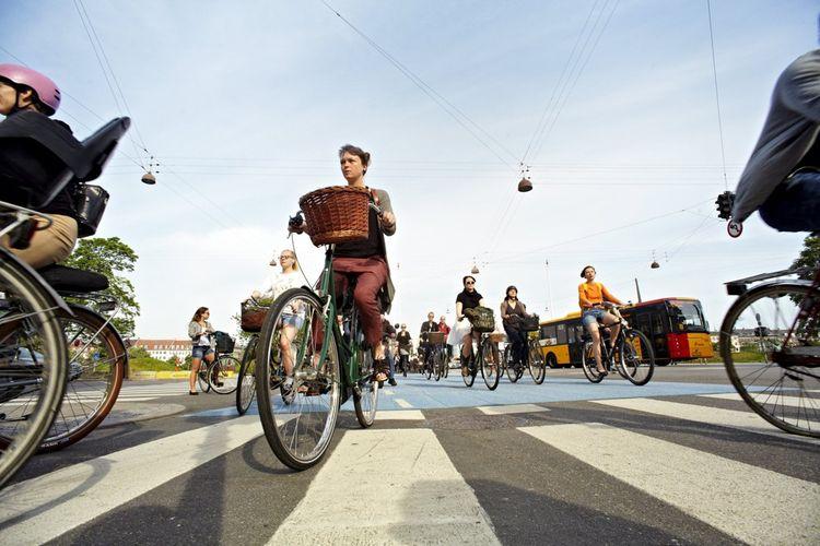 Copenhague, classée ville la plus cyclable du monde, récolte les fruits de quarante ans d'investissements en faveur du vélo (ici, en 2013).
