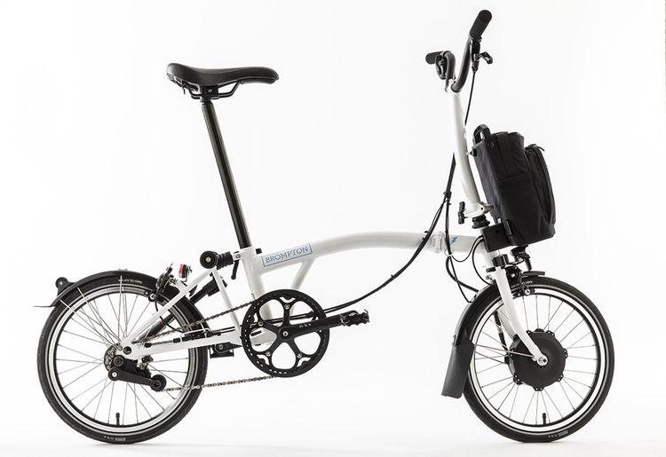 Le vélo pliable de Brompton, très prisé des citadins.