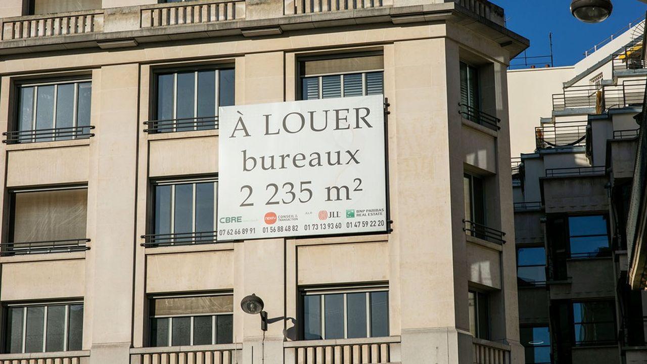Les SCPI d'immobilier d'entreprise ont collecté 2,56 milliards d'euros, en progression de 24 % par rapport à la même période de 2019.