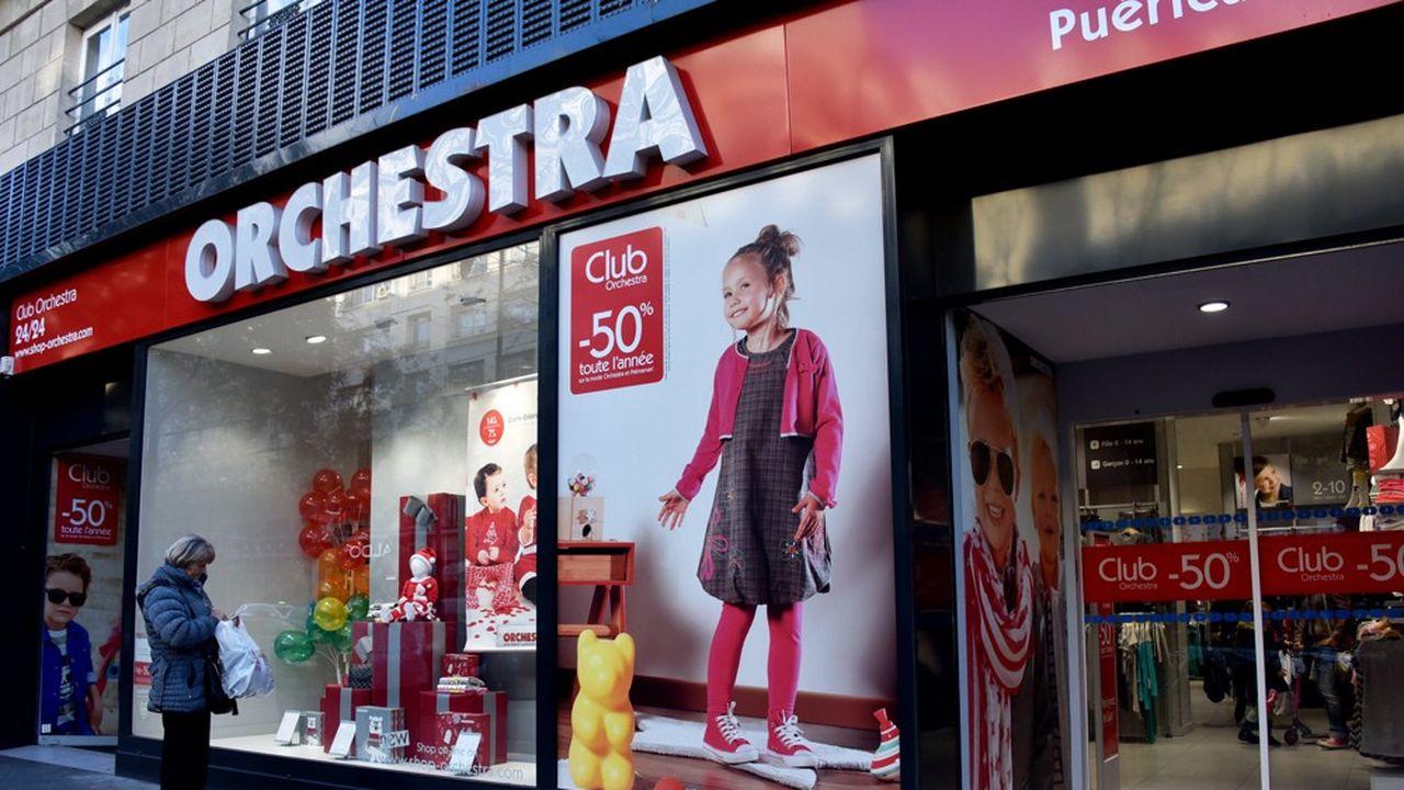 Orchestra emploie près de 3.000 salariés pour un chiffre d'affaires de 563,5 millions d'euros.