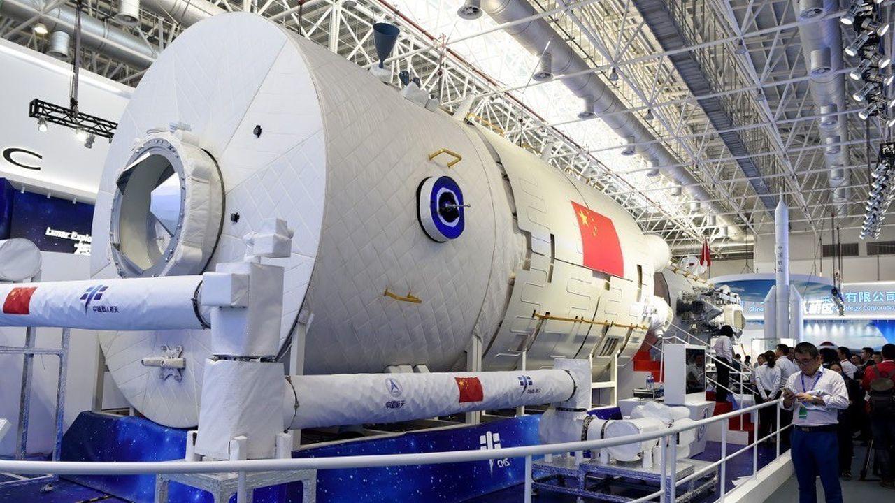 La future station spatiale chinoise comprendra 3 modules.